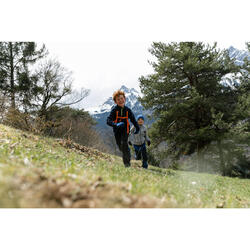 Veste polaire de randonnée enfant MH150 bleue