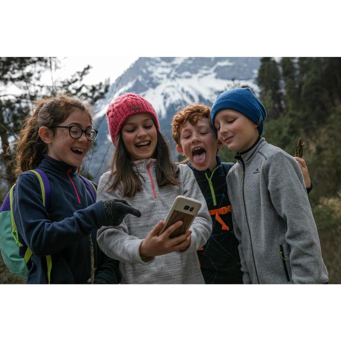 Polaire de randonnée enfant MH150 Bleu marine 7-15 ans