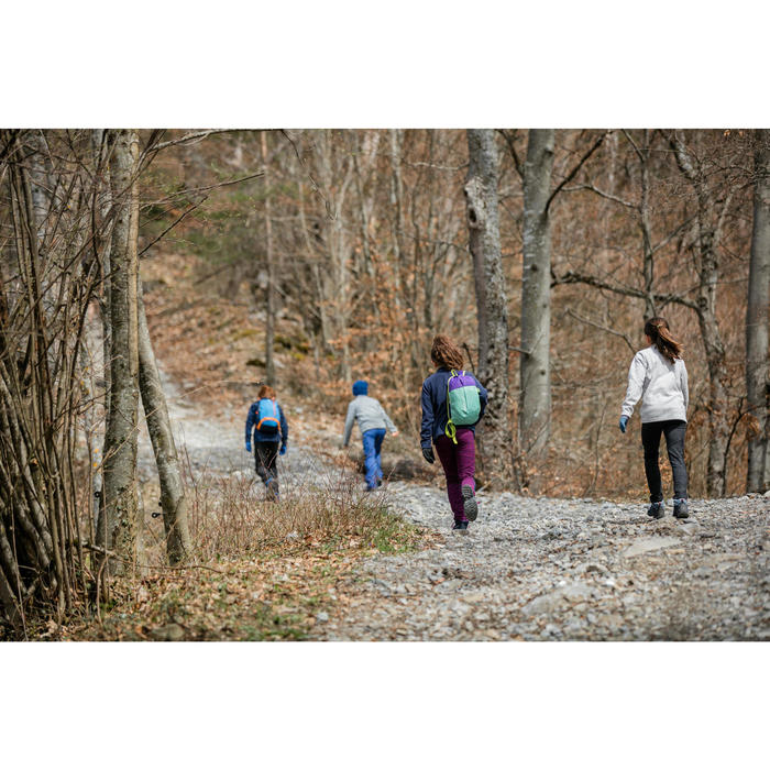 Wandellegging voor meisjes SH100 Warm 7-15 jaar zwart