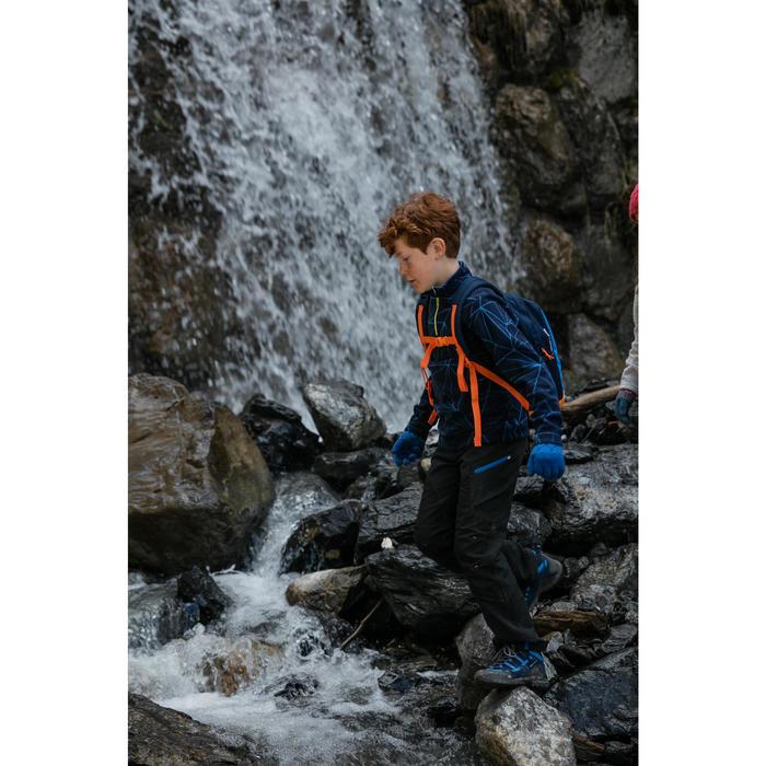 Waterdichte wandelschoenen voor kinderen NH500 mid blauw