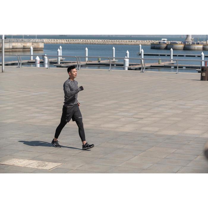 PW 100 men's fitness walking shoes dark grey - 1496032