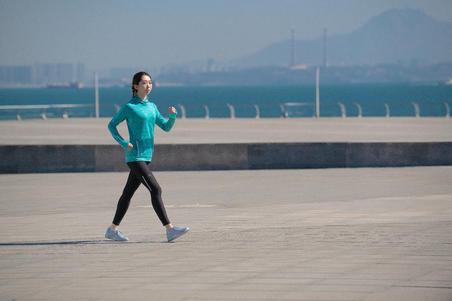 PW 100 women's fitness walking shoes light grey