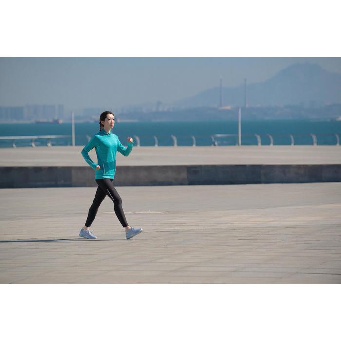 PW 100 women's fitness walking shoes light grey - 1496051
