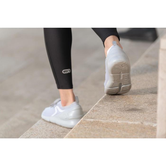 PW 100 women's fitness walking shoes light grey - 1496052