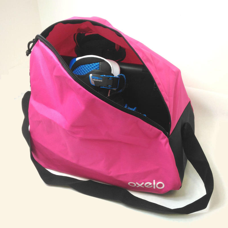 Kids' Roller Skate Bag 20-Litre - Pink