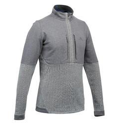Pullover Naturwandern NH500 Herren grau