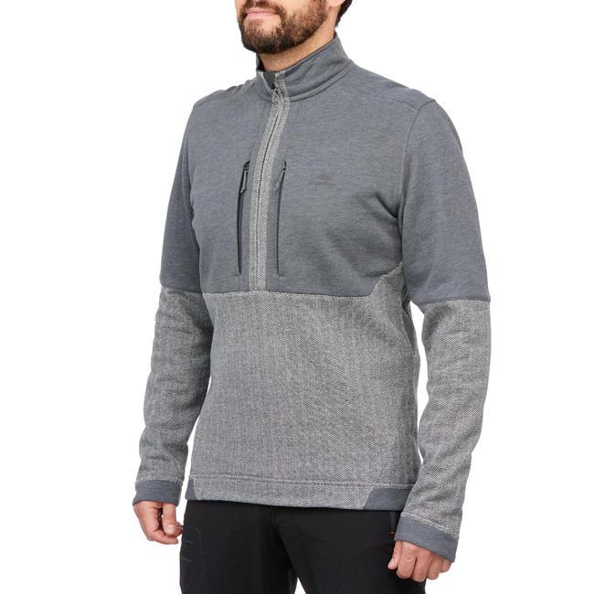 Men's Pullover NH500 - grey