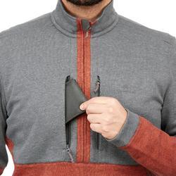 NH500男款一日健行上衣 - 淺灰色