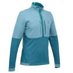 NH500 Men's Hiking Pullover - turquoise