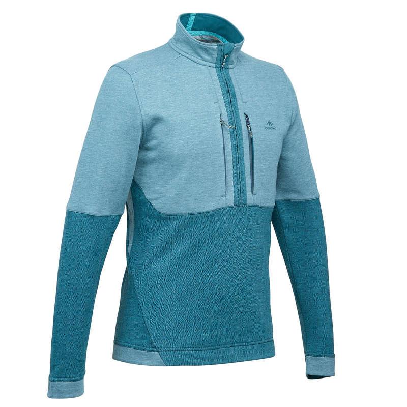 Pullover, Midlayer Herren Naturwandern Wandern - Wanderpullover NH500 Herren QUECHUA - Wanderbekleidung und Zubehör