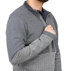 NH500男款健行套頭衫-灰色