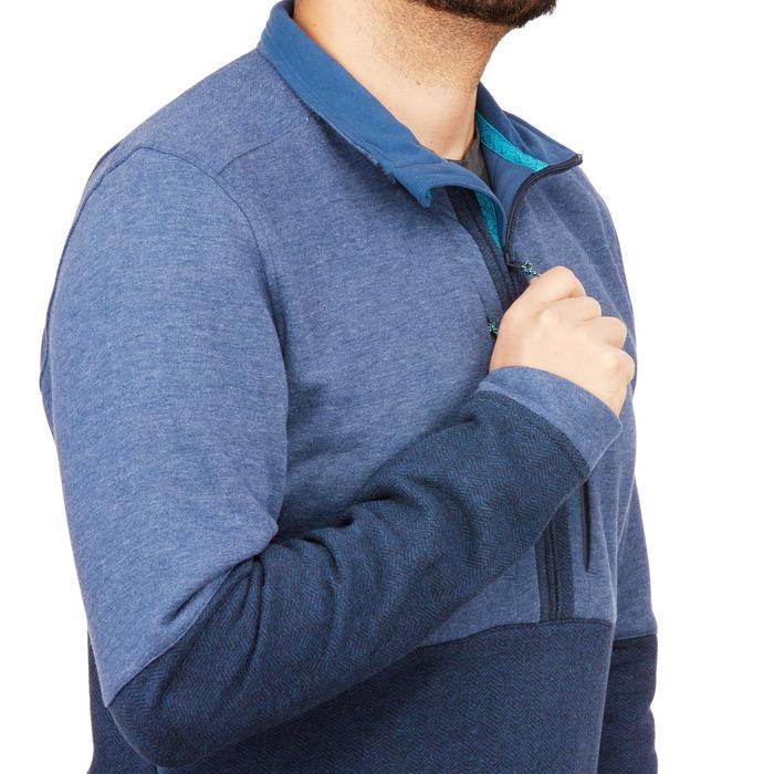 男款健行立領針織衫NH500