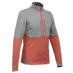 NH500 Men's Hiking Pullover - Brick grey