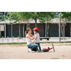Bicicleta sin pedales infantil de 10 pulgadas RunRide 520 rojo