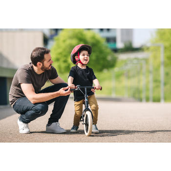 Loopfietsje voor kinderen 10 inch Run Ride 520 Cruiser zwart