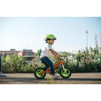 Bicicleta sin pedales infantil de 10 pulgadas RunRide 500 Naranja