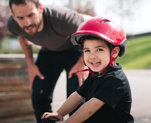 Dossier sport enfant vélo - Conseils Sports DECATHLON