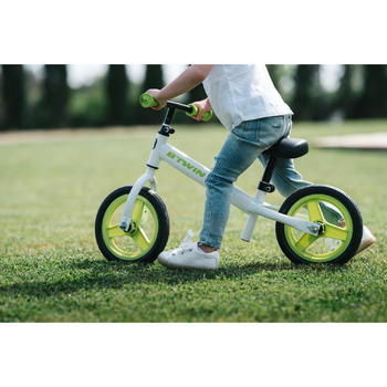 Draisienne enfant 10 pouces Run Ride 100 Blanche - 1496581