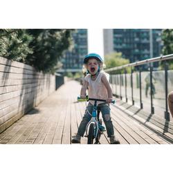 Draisienne enfant 10 pouces RunRide 500 Bleu Vert