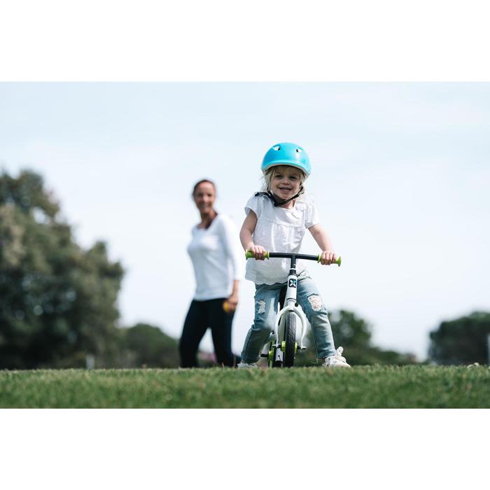 Run Ride 100 Kids' 10-Inch Balance Bike - White