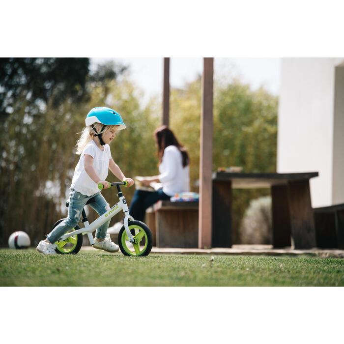 Loopfietsje voor kinderen 10 inch Run Ride 100 wit