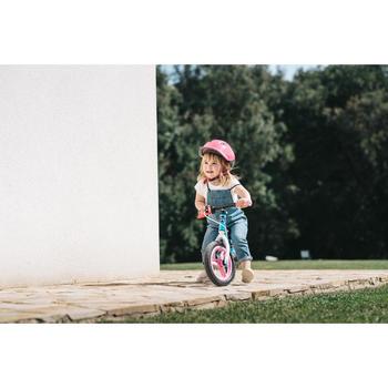 Laufrad Run Ride 500 10Zoll Kinder blau/rosa
