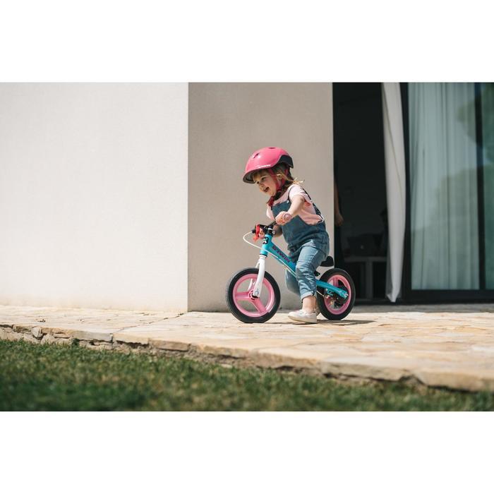 Bicicleta de Niño sin pedales RunRide 500 Azul y Rosa | Decathlon