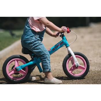 Bicicleta sin pedales para niños 10 pulgadas RunRide 500 azul y rosa