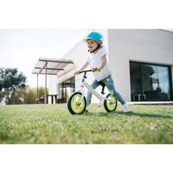 Loopfietsje kinderen 10 inch Run Ride 100 wit