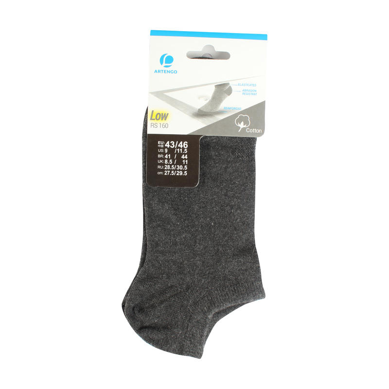 ANKLE SOCKS DARK GREY - RS160