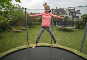 sav trampoline domyos gym pilate