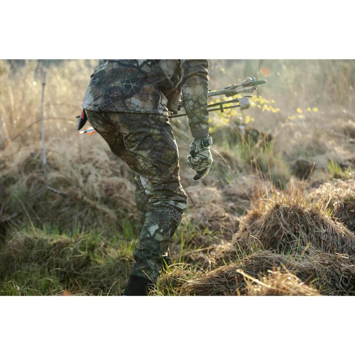 Ademende geluidloze camouflagebroek voor de jacht 900 Furtiv