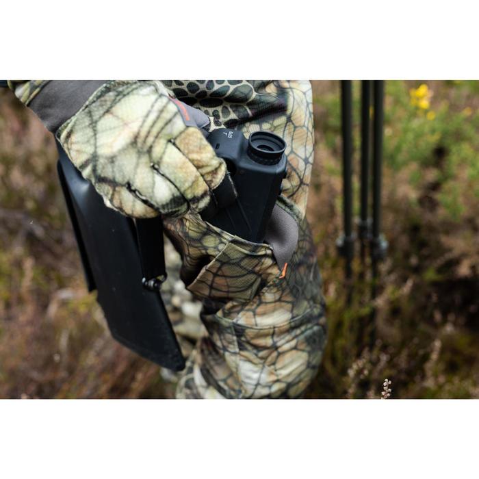Jagdhose BGS900D geräuscharm atmungsaktiv Camouflage FURTIV