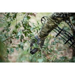 Ademende jachthandschoenen in merinowol 900 Furtiv camouflage
