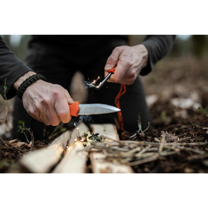 Couteau chasse Fixe SIKA 100 GRIP Vert