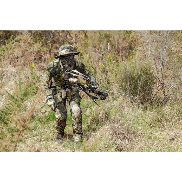 Ademende camouflage hoed voor de jacht 500 Furtiv
