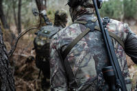 Veste chasse Silencieuse respirante 500 CAMOUFLAGE FORET