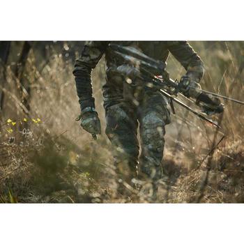 Warme en ademende jagershandschoenen merinowol 900 Furtiv