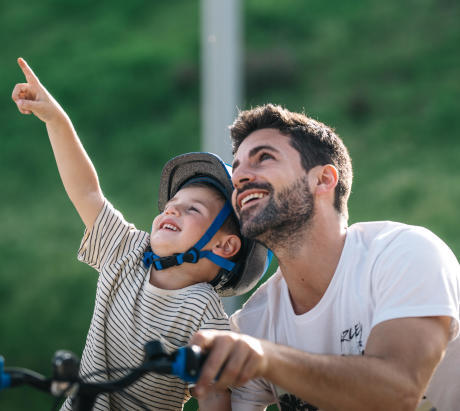 apprentissage vélo enfant