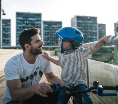 leren fietsen kinderen