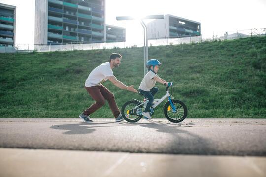 兒童自行車|不必輔助輪!4個步驟教孩子學會騎自行車