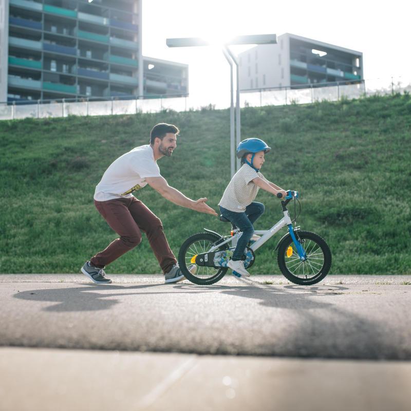 親子休閒健行自行車