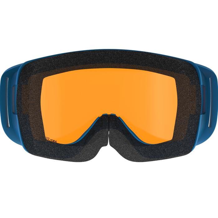 Skibrille Snowboardbrille G 100 S3 Erwachsene/Kinder Schönwetter blau