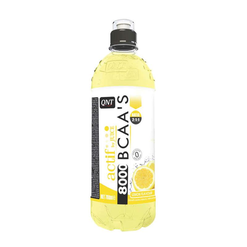 ПРОТЕИНЫ, БИОЛОГИЧ АКТИВ ДОБАВКИ Фитнес, пилатес - Напиток BCAA'S Лимон QNT - Спортивное питание