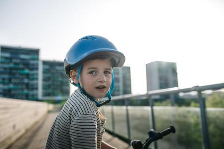 500 Kids' Cycling Helmet - Blue