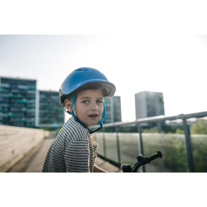 Casque vélo enfant 500 BLEU