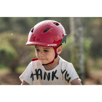Casco para bicicleta infantil 500 Rojo