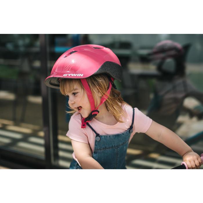 Fahrradhelm Kinder 500 rosa