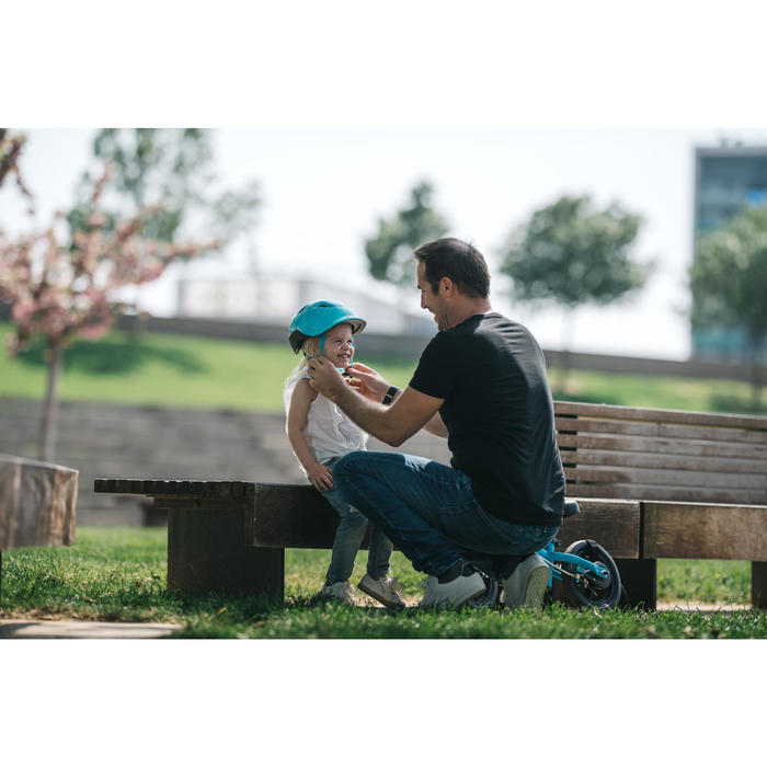 Fietshelm voor kinderen 500 turquoise