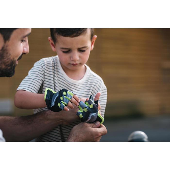 Fietshandschoenen voor kinderen Dark Hero